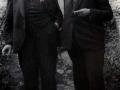 Ide Bloem (links) en Jos Schijvens 1946
