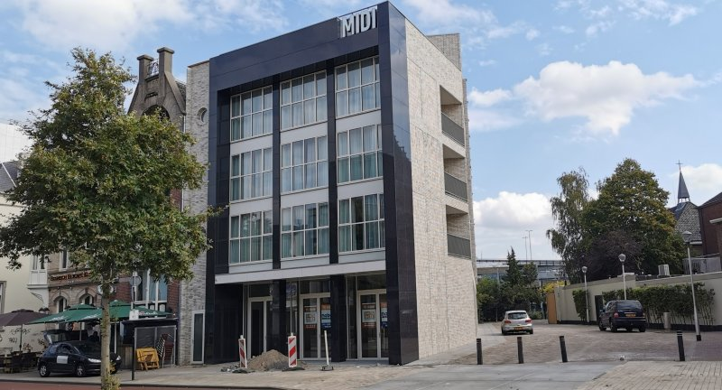 Appartementen Midi 2020, Heuvel 108 Tilburg