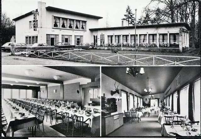 "Tilburgseweg 193 Goirle. Café-restaurant ""Boschlust"""