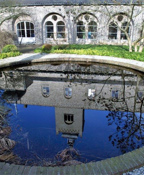 Binnentuin Leerhotel het Klooster