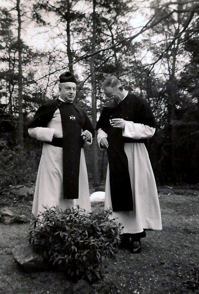 Jos Schijvens met Rector L.Nollet.