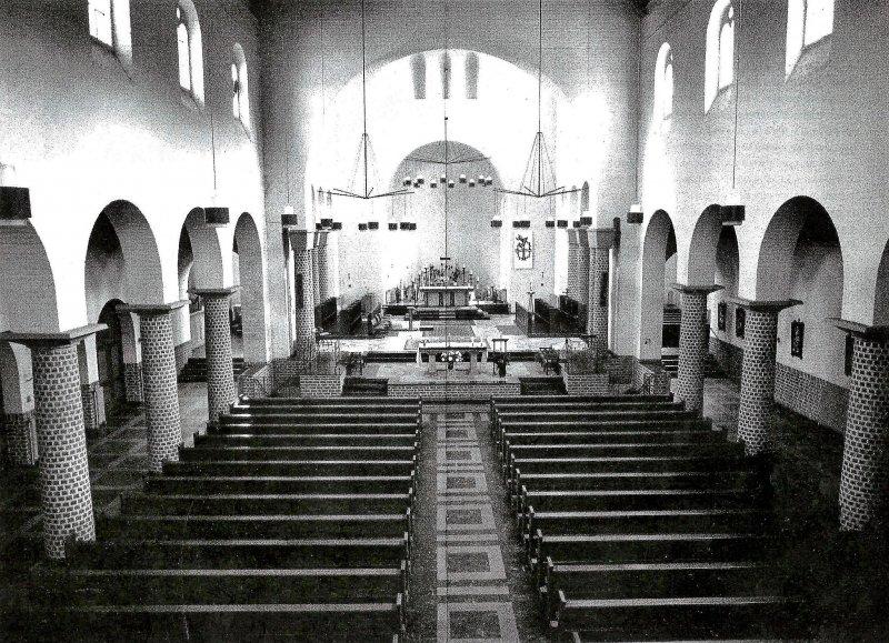 Oorspronkelijk interieur kerk Kruisherenklooster Amersfoort