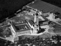 Luchtfoto Constantinianum Amersfoort, 1956. Nu: Leerhotel het Klooster.