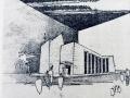 Tekening Kapel OLV ter Nood Tilburg