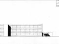 Tekening gevelaanzicht St. Maartensschool Tilburg