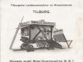 Reclamefolder Manille Bogaerts Landbouwmachinefabriek Tilburg.