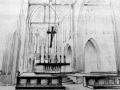 Tekening interieur Kerk Sint Jan Onthoofding Goirle 1956