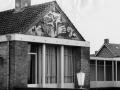 Rijks politiebureau Berndijksestraat 26/Prins Mauritsstraat 1-3 Kaatsheuvel, sgraffito Theo Mols