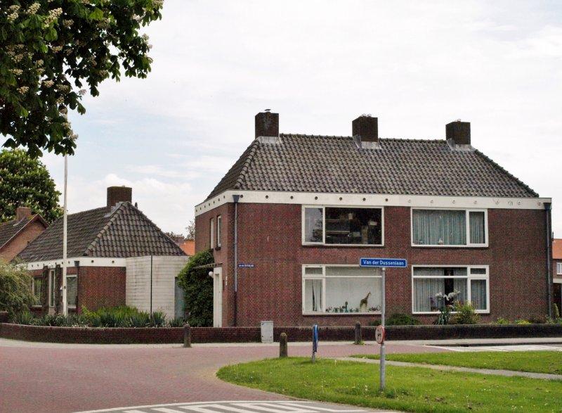 oormalig Rijks politiebureau Heren van Brechtlaan 5/van der Dussenlaan 24-26 Dussen