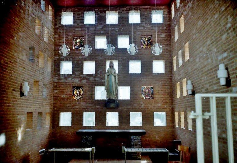 Mariakapel in de Lourdeskerk Tilburg