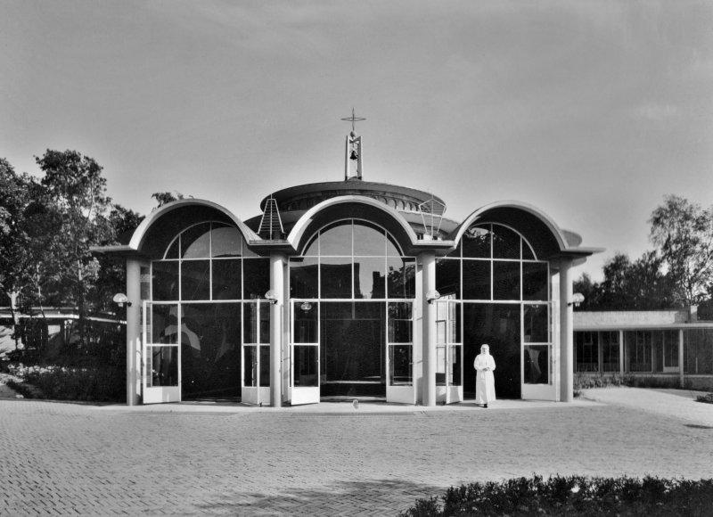 Ingangspartij Kapel St. Maartenskliniek Ubbergen