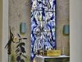 Glas in lood raam Marius de Leeuw kapel St. Maartenskliniek