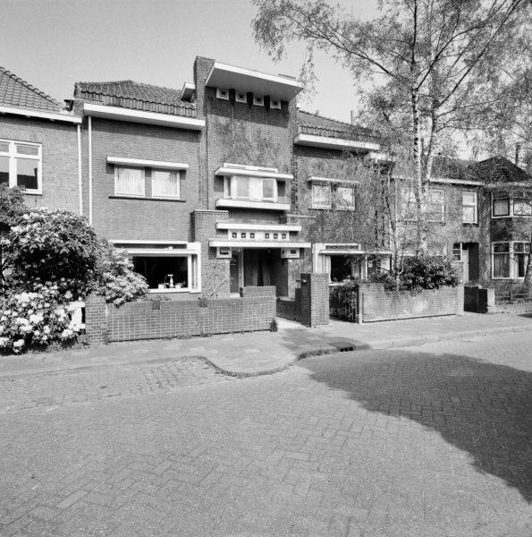 Hyacintstraat 13-15 Tilburg. Foto RCE
