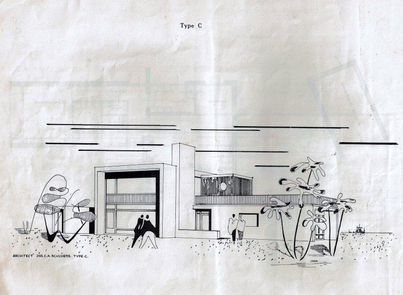 Ontwerp bungalows Johanna van Brabantlaan Hilvarenbeek
